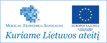 Projektas iš dalies finansuojamas ES struktūrinio fondo